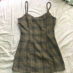 Emory Park Mini Plaid Dress